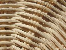 Fragment of a wicker basket Royalty Free Stock Image