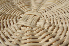 Fragment of a wicker basket Royalty Free Stock Photography