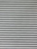 Fragment of window plastic blinds Stock Images