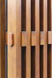 Fragment from wooden fence Stock Photo