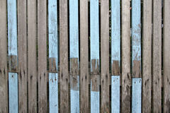 Fragment of wooden fence Royalty Free Stock Image
