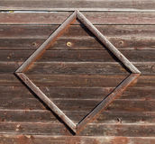 Fragment of wooden garden fence. Stock Images