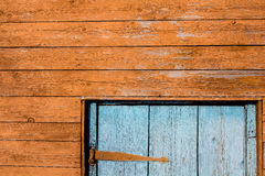 fragment of a wooden house Royalty Free Stock Image