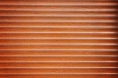 Fragment of Wooden Roller Door Stock Image