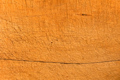 Fragment wooden trough Royalty Free Stock Images