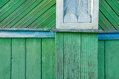Fragment of wooden wall Royalty Free Stock Photography