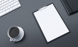 Fragment of workplace Stock Image
