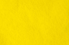 Fragment of yellow cloth Microfiber. Pile texture. Background image. Royalty Free Stock Image
