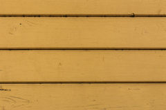 Fragment of yellow wood paneling Stock Images