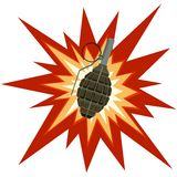 Fragmentation grenade Royalty Free Stock Photo