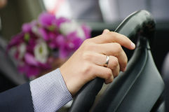 fragmentbröllop arkivfoto