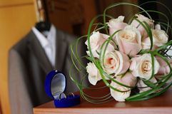 fragmentbröllop Royaltyfria Foton