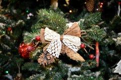 Fragmente des Baums des neuen Jahres Stockbilder