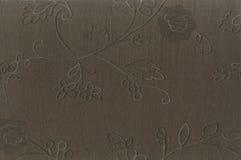 Fragmente a textura da tela de seda com um teste padrão desproporcionado do remendo Foto de Stock Royalty Free