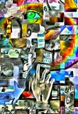 Fragmented Human Abstract Stock Images