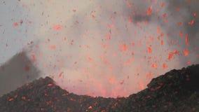 fragmenten van lava stock videobeelden