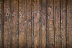 Fragmentet av träväggen, detalj texturerade bakgrund Royaltyfria Bilder