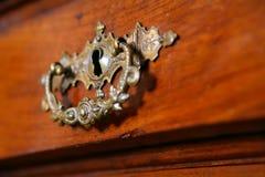 Fragmento à mobília à antiga imagem de stock royalty free