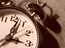 Fragmento 1 del reloj de alarma imagen de archivo libre de regalías