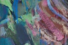 Fragmento abstracto de la pintura Imagen de archivo