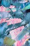 Fragmento abstracto de la pintura Imagen de archivo libre de regalías