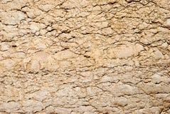 Fragmento antiguo de la roca Foto de archivo libre de regalías