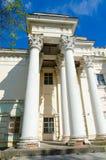 Fragmento da antiga casa dos oficiais, Polotsk, Bielorrússia Fotos de Stock Royalty Free
