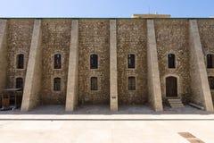 Fragmento da fachada da igreja de St Peter dos Dominicans Foto de Stock