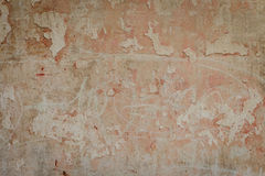 Fragmento da parede com attritions e quebras Imagens de Stock