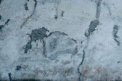 Fragmento da parede com attritions e quebras Imagem de Stock