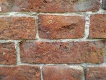 Fragmento da parede de tijolo fotos de stock