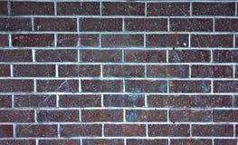 Fragmento da parede de tijolo, textura, fundo Imagem de Stock