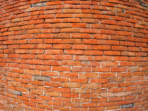 Fragmento da parede de tijolo velha fotos de stock royalty free