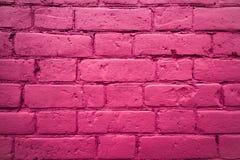 Fragmento da parede do tijolo Foto de Stock Royalty Free