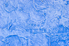 Fragmento da parede pintada textured Fotos de Stock