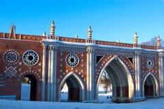 Fragmento da ponte da arquitetura gótico imagem de stock royalty free