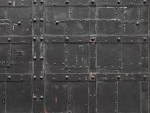 Fragmento da porta do ferro Imagem de Stock