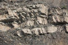 Fragmento da rocha Imagem de Stock