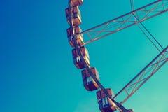 Fragmento da roda de Ferris Foto de Stock Royalty Free