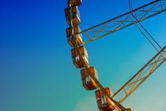 Fragmento da roda de Ferris Fotografia de Stock