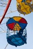 Fragmento velho da roda de Ferris fotos de stock