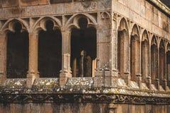 Fragmento de la abadía de Mont Saint-Michel Fotos de archivo