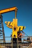 Fragmento de la bomba de aceite Industria de petróleo equipment Imágenes de archivo libres de regalías