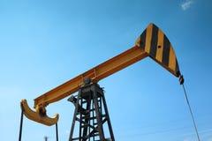 Fragmento de la bomba de aceite Industria de petróleo equipment Imagen de archivo libre de regalías