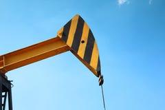 Fragmento de la bomba de aceite Industria de petróleo equipment Fotografía de archivo