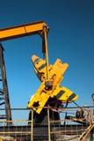 Fragmento de la bomba de aceite Industria de petróleo equipment Foto de archivo libre de regalías