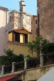 Fragmento de la calle. Venecia Foto de archivo libre de regalías