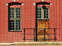 Fragmento de la casa de Nethetlands Imagenes de archivo