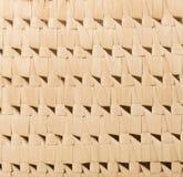 Fragmento de la cestería hecho de las hojas de palma, detalle, fondo, PA Imagen de archivo