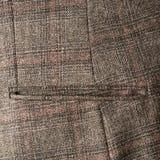 Fragmento de la chaqueta de tweed Fotografía de archivo libre de regalías